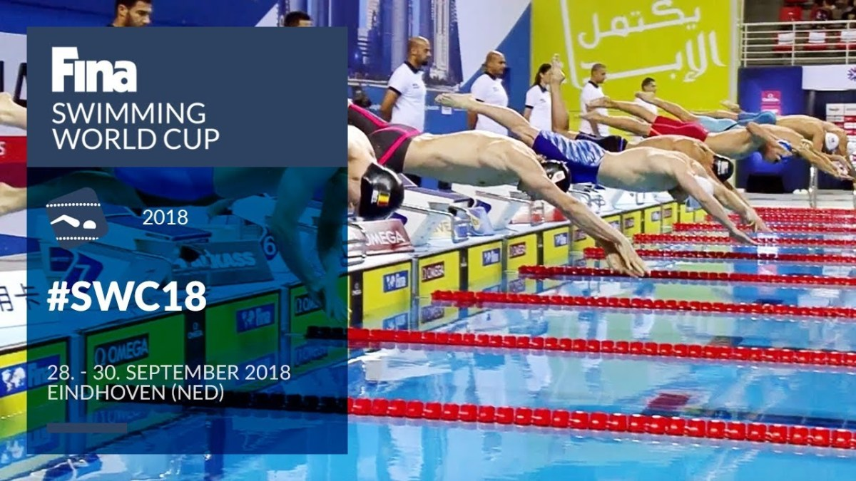 FINAtv streaming information - FINA Swimming World Cup 2018 - Eindhoven (NED)
